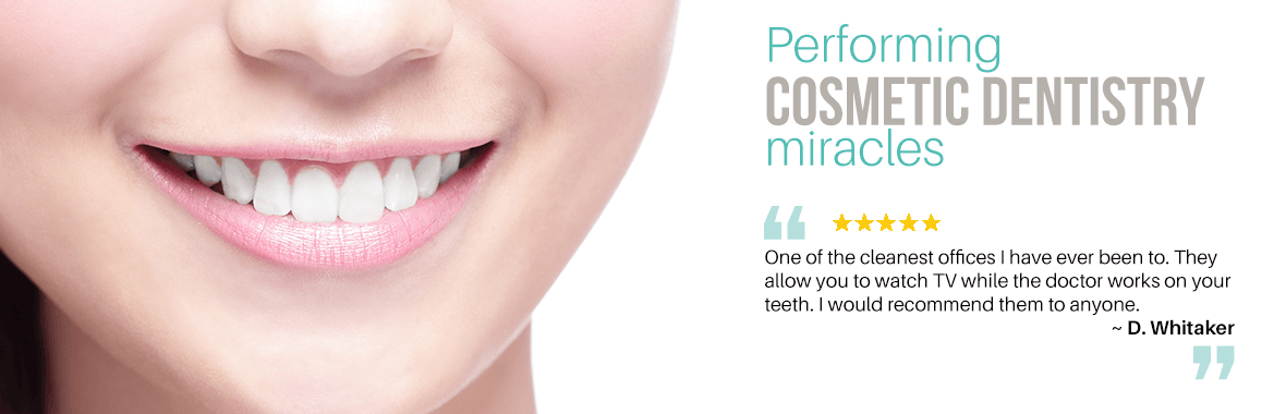 Performing Cosmetic Dentistry miracles